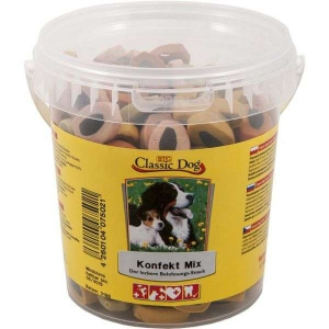 Classic-Dog-Snack-Konfekt-Mix-Eimer-500g